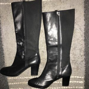 Rockport classic black knee High Boots